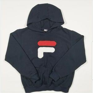 FILA Logo 90s Pullover Street Hoodie Sweatshirt